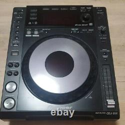 2 Unit Factory BOX SET! Pioneer CDJ-850-K x2 Tested From Japan