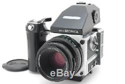 300 Unit Limited BRONICA ETRSi with AEIII PE 75mm F/2.8 Speed Grip E From JAPAN