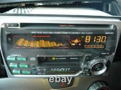 ADDZEST ADX5455 CD / Cassette Player Receiver Head Unit Stereo Audio From Japan