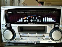 ADDZEST ADZ525 CD / Cassette Player Receiver Head Unit Stereo Audio From Japan