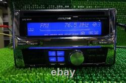 ALPINE MDA-W925JS CD / MD Player Receiver Head Unit Car Audio Stereo From Japan