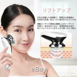 ANLAN facial massager equipment lift up 8 units 1 unit from JAPAN ion EMS face