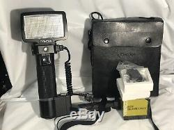 AS-IS CONTAX REALTIME FLASH 540 RTF NO TESTED With SLAVE UNIT FROM JAPAN