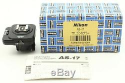 Almost Unused IN BOX Nikon AS-17 TTL Flash Unit Coupler for F3 From Japan