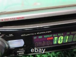 Alpine CDA-7838J 1DIN CD Player Receiver Head Unit Car Audio Stereo From Japan