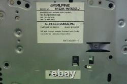 Alpine MDA-W933J CD / MD Player Receiver Head Unit Car Audio Stereo From Japan