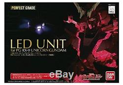 BANDAI LED UNIT for 1/60 PG RX-0 Unicorn Gundam Plastic Model Kit from Japan
