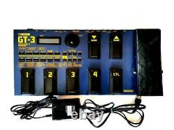 BOSS GT-3 Electric Guitar Multi Effects Unit Used From Japan