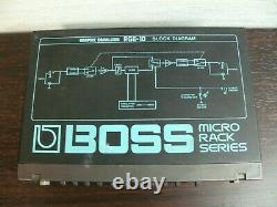 BOSS RGE-10 Graphic Equalizer halfrack Guitar Effect Unit from japan