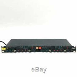 BSS DPR-402 Compressor Peak Limiter De-Esser 2 Channel Rack Unit From Japan