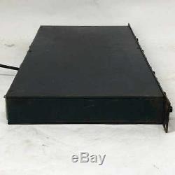 BSS DPR-402 Compressor Peak Limiter De-Esser 2 Channel Rack Unit From Japan