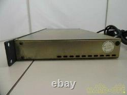 BSS DPR-402 Compressor Peak Limiter De-Esser 2 Channel Rack Unit From Japan cz5