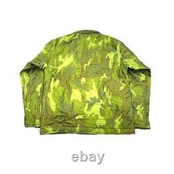 BUZZ RICKSON'S UNITED CARR N-1 Jacket Blouson Outer Camouflage Men L From Japan