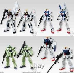 Bandai Mobile Suit Gundam Universal Unit 4 All 8 types set Candy Toy from Japan