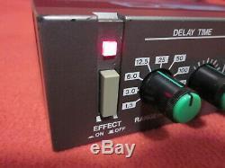 Boss Digital Modulation Delay RDD-20 Half Rack Effects Unit Tested from Japan