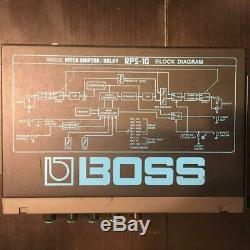 Boss RPS-10 Digital Pitch Shifter Delay micro Half Rack Effect Unit From ER
