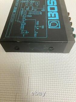 Boss RRV-10 Digital Reverb Micro Rack Effect Unit Excellent from Japan #Z17