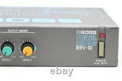 Boss RRV-10 Digital Reverb Micro Rack Effect Unit From Japan Excellent++