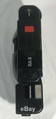 EXC++++ Olympus XA2 35mm POINT & SHOOT Film Camera +A11 FLASH UNIT FROM JAPAN