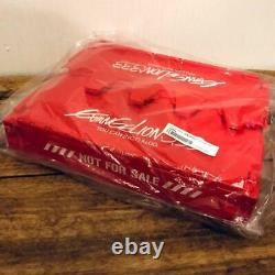 Evangelion Limited Foldable Container Unit Red from Japan Free Shipping