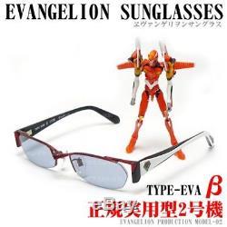 Evangelion SUNGLASSES TYPE EVA Unit 2 Model From Anime Japan New
