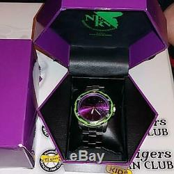 Evangelion USJ Watch Wristwatch Unit 01 from JAPAN