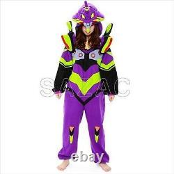 Evangelion Unit 01 Fleece Costume Cosplay Unisex Kawaii from Japan F/S
