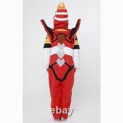 Evangelion Unit 02 SAZAC Kigurumi Fleece Costume Pajamas Cosplay From Japan