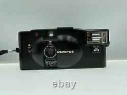 Exc+++++ Olympus XA2 Point & Shoot Film Camera with A11 Flash Unit From Japan