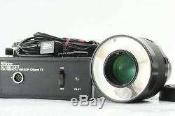 Excellent+5Nikon Medical-NIKKOR 120 F4 Lens with AC UNIT LA-2 From Japan #179