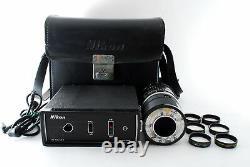 ExcellentNikon Medical Nikkor Auto 200mm f/5.6 AC Unit LA-1 From JAPAN 740130