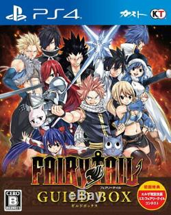 FAIRY TAIL GUILD BOX Sony Playstation 4 PS4 Games From Japan Tracking NEW