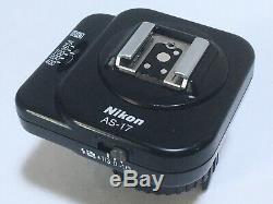 FCFS! UPS Near Mint Nikon AS-17 TTL FLASH UNIT GUN COUPLER For F3 From JAPAN
