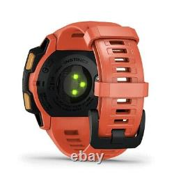 GARMIN Instinct GPS outdoor watch Evangelion Unit02 010-02064-F2 from Japan