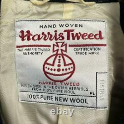 HARRIS TWEED BEAUTY&YOUTH UNITED ARROWS Chester Coat Jacket Women's M From Japan