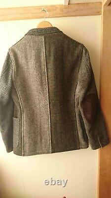 HARRIS TWEED UNITED ARROWS Crazy Pattern Tailored Jacket Brown Men S From Japan