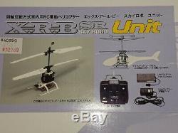 HIROBO RC X. R. B Sky Robo Unit 40MHz Helicopter Model Kit 10004 from Japan F/S