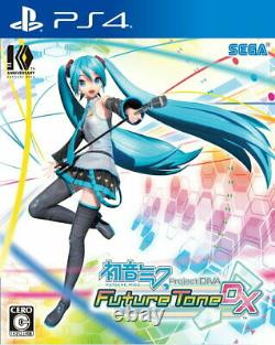 Hatsune Miku Project DIVA Future Tone DX Sony PS4 From Japan Tracking# USED