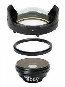 INON Dedicated UWL-H100 Series Dome Lens Unit 2 Fast Shipping From Japan EMS