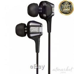 JVC Canal Earphone Hi-SPEED Twin System unit Black & Silver HA-FXT200 from JAPAN