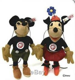 Japan-only Steiff Mickey Mouse Limited to 1000 units 2007 17cm From Japan