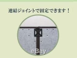Japanese tatami unit Igusa Rush Mat brown Agura 82x82cm 9 Pcs Set from japan