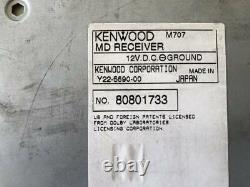 KENWOOD M707 MD Player Receiver Head Unit Stereo Car Audio From Japan