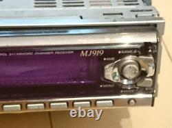 KENWOOD MJ919 MD Player Receiver Head Unit Stereo Car Audio From Japan