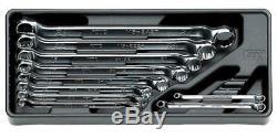 KTC (KYOTO TOOL) BOX END Wrench Set (10pcs.) unitmm TM510 from JAPAN