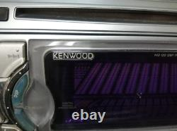 Kenwood DPX-5200M CD MD Tuner Amplifier DSP 2 DIN Unit From Japan Used