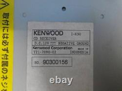 Kenwood I-K50 CD Player Head Unit Receiver Car Audio Stereo From Japan
