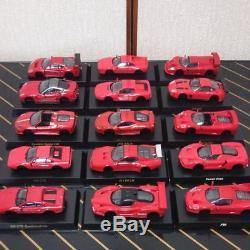 Kyosho Circle K Sunkus 1/64 Ferrari 18 units set collection rare from japan 0T