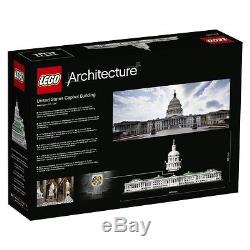 Lego architecture United States Capitol 21030 from japan