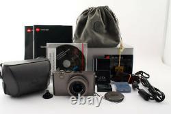 Leica D-LUX4 Titanium limited 1000 units model EXCELLENT+5 + CaseFrom JAPAN
